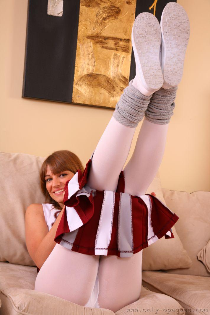 Amy P Plays The Naughty Cheerleader